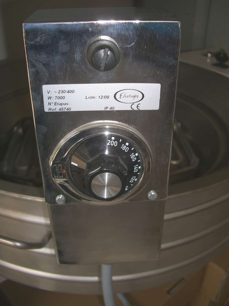 Friteuse s rie m gros plan for Thermostat interieur